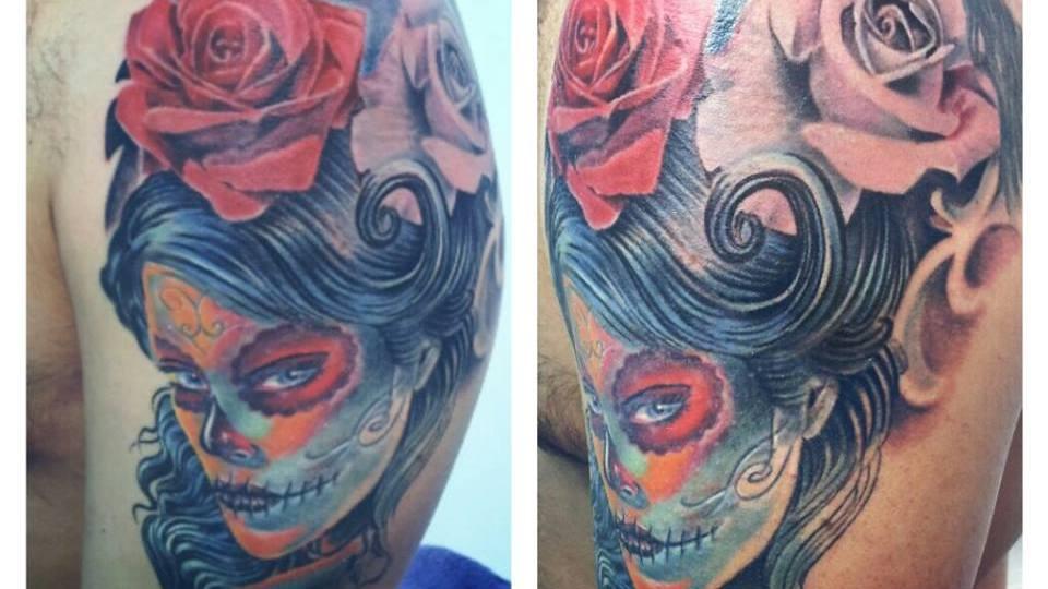 Denis Trevisani Tattoo Studio - TATUAGGIO CHICANO