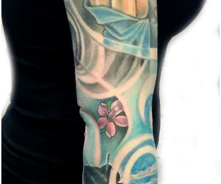 Denis Trevisani, tatuatore Verona - TATUAGGIO GIAPPONESE