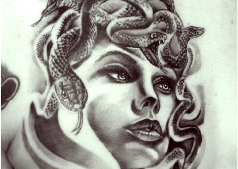 tatuaggio medusa