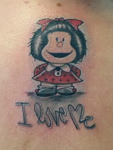mafalda tatuaggio