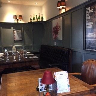 Dining Room Black Pig Tunbridge Wells