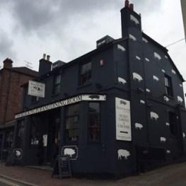 Black Pig Pub Exterior Tunbridge Wells