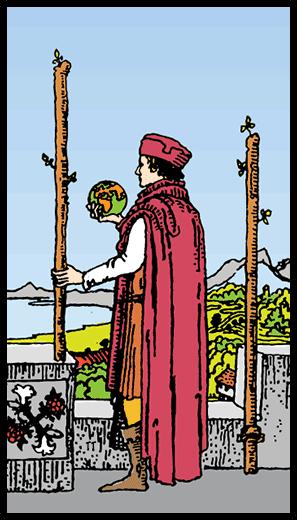 Asaların İkilisi - Tarot Kartı