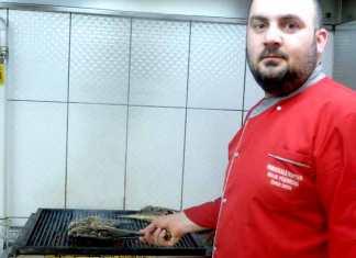 balık pişirici