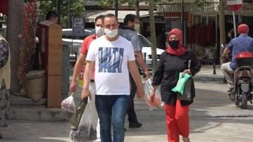 Denizli'de bir haftada maske takmayanlara 9 bin 900 TL cezai işlem uygulandı