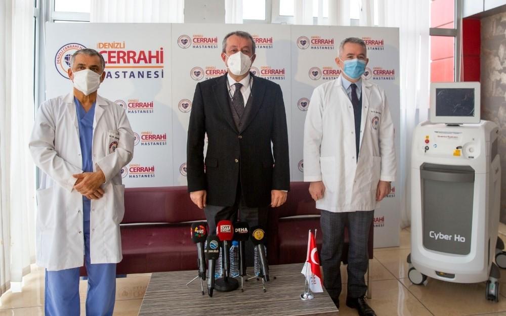 Prostat hastalarının yüzünü güldürecek HoLEP teknolojisi Denizli'de