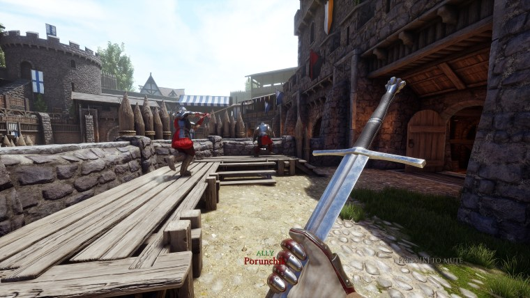 Mordhau spada combattimento