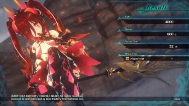 Dragon Star Varnir Charlotta Battle Results
