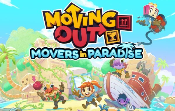 Moving Out DLC Movers in Paradise Banner