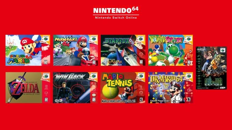 nintendo 64 giochi switch