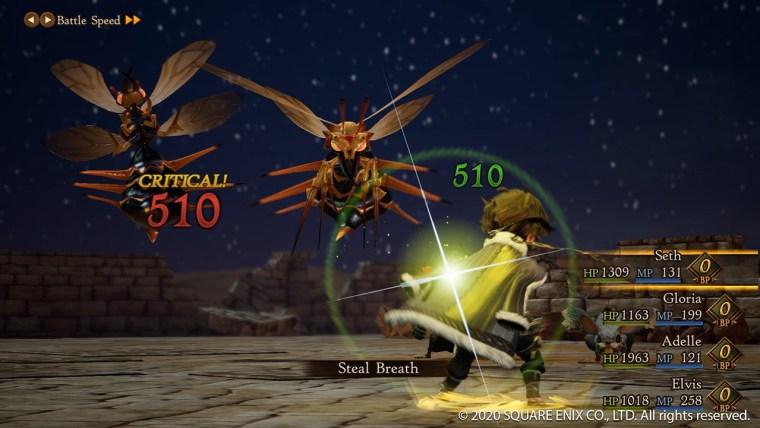 bravely default II pc steam battaglia
