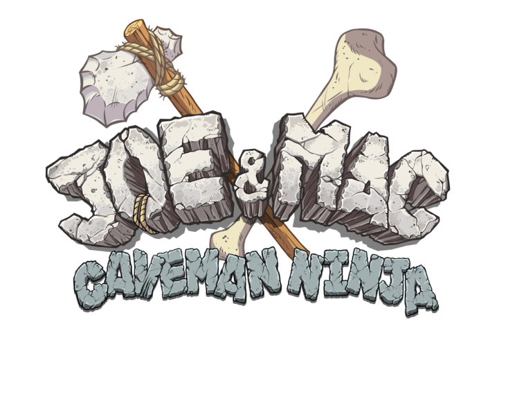 joe mac caveman ninja logo