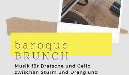 Sonntag, 15.9.2019: 11-14 Uhr: Baroque Brunch