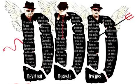 Freitag, 24.5.2019, 20:00 Uhr – Doubledylans – </br>Three Angels oder Drei Teufel für Bob, Dylan-Doppelgeburtstagsfeier
