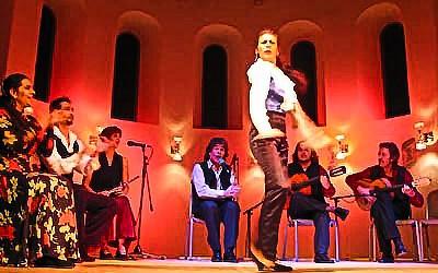 """Freitag, 8. 6. 2018 – 20 Uhr  """"Noche Flamenca mit LA CALI"""""""