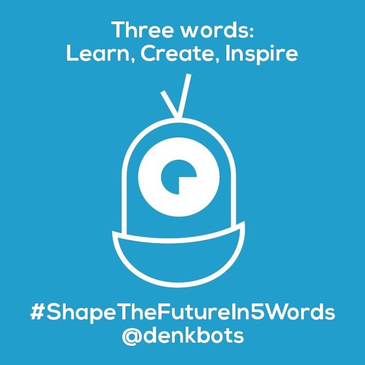 Shape the future in 5 words