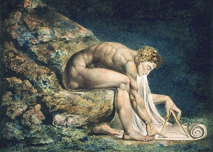 Bild: William Blake's Newton von 1795