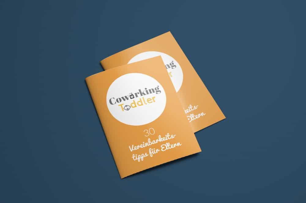 Denken und Handeln – die Konzeptagentur für langfristige Gestaltung hat für Coworking Toddler die Broschüre gestaltet