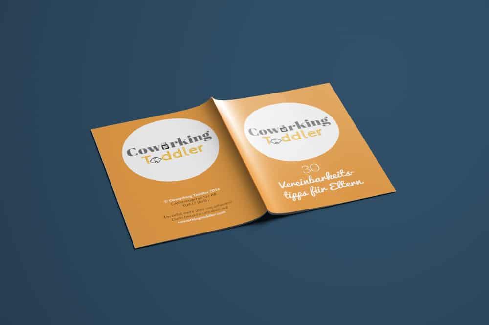 Denken und Handeln – die Konzeptagentur für langfristige Gestaltung hat für Co Working Toddler das Design der Broschüre gestaltet