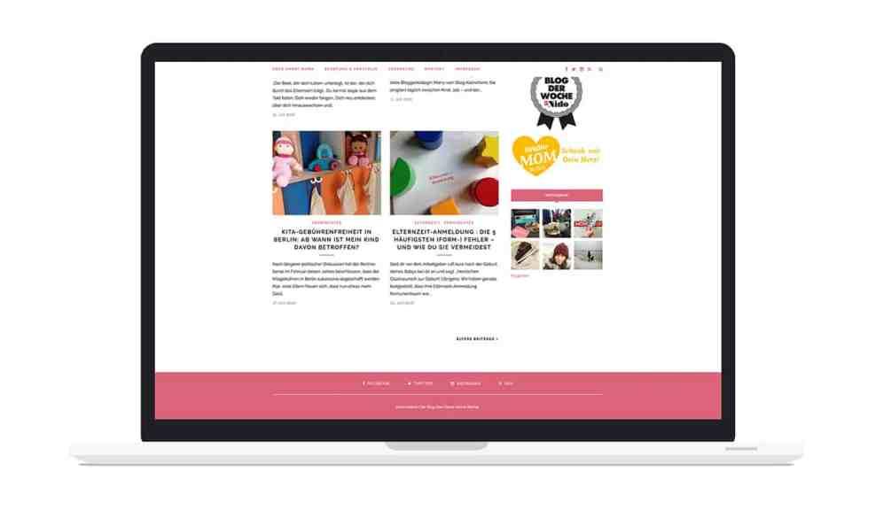 Denken & Handeln hat Smart Mama zur visuellen Identität beraten, ihre Flyer und ihre Webseite gestaltet.