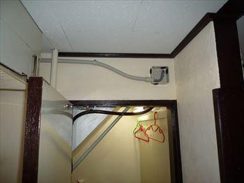 壁入線貫通箇所