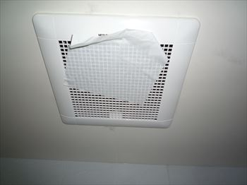 浴室換気扇簡易吸込みテスト