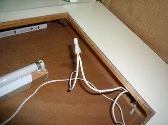 電源コード不良接続箇所修理後