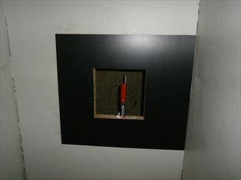 換気扇取付板加工