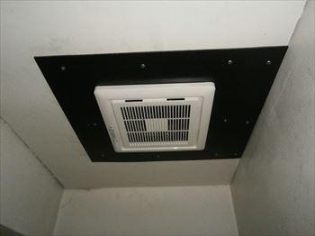 二部屋用換気扇取替後
