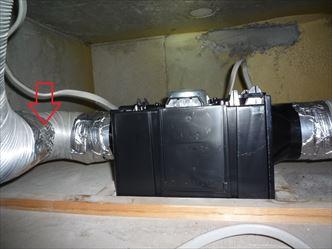 三菱vd-15zfc9-2部屋換気扇交換後