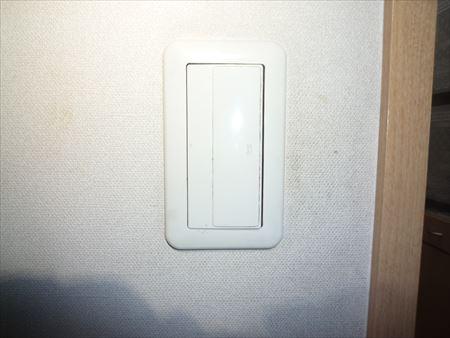 堺市南区-キッチン照明スイッチ修理