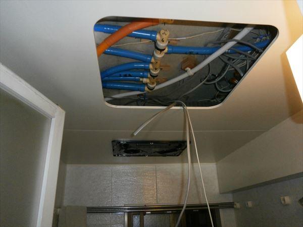 浴室換気乾燥機電源