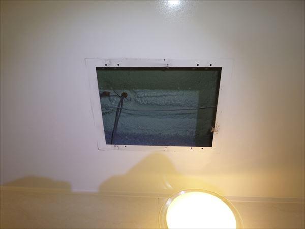 浴室換気乾燥機300×400開口