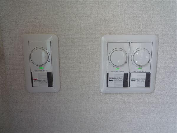 LED対応調光スイッチ