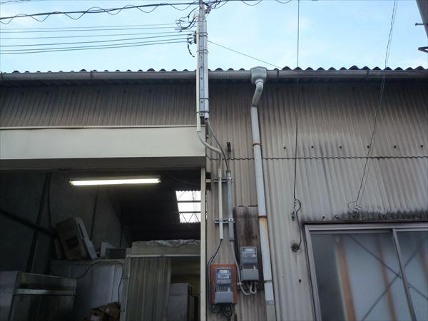 【大阪市生野区】単相三線切替工事と電気容量増設