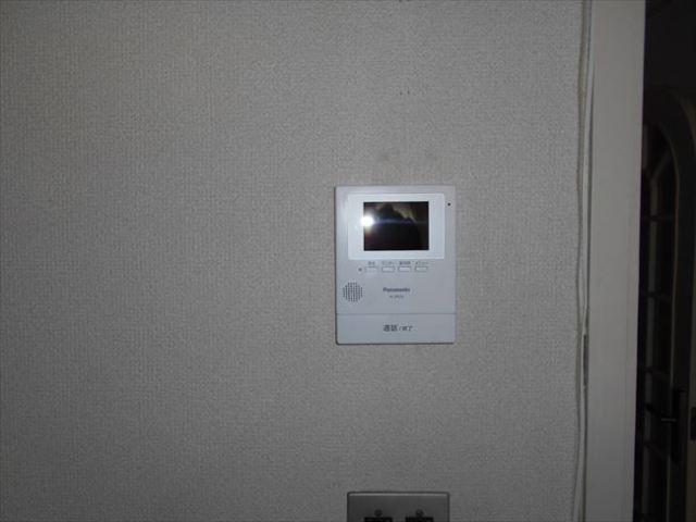 テレビモニター親機取付