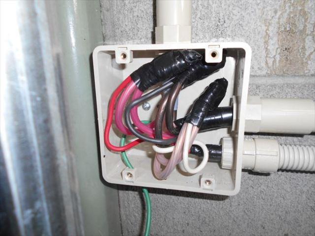 動力コンセント電源供給箇所