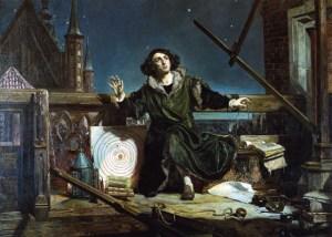 Astroloog Copernicus/ gesprekken met God, Jan Matejkos, laat 19e eeuw