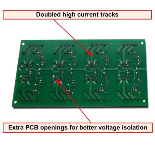 small resolution of 8 channel relay board for your arduino or raspberry pi 24v
