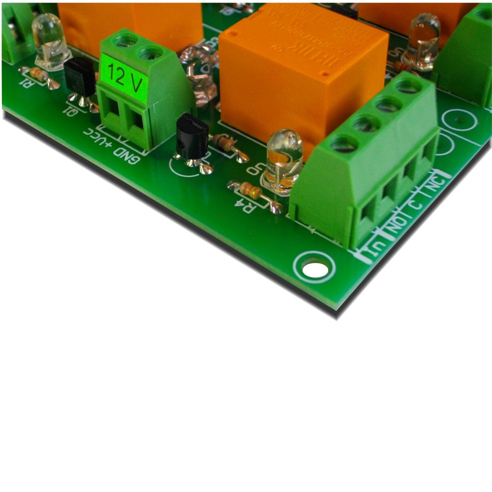 hight resolution of 4 channel relay board for your arduino or raspberry pi 12v