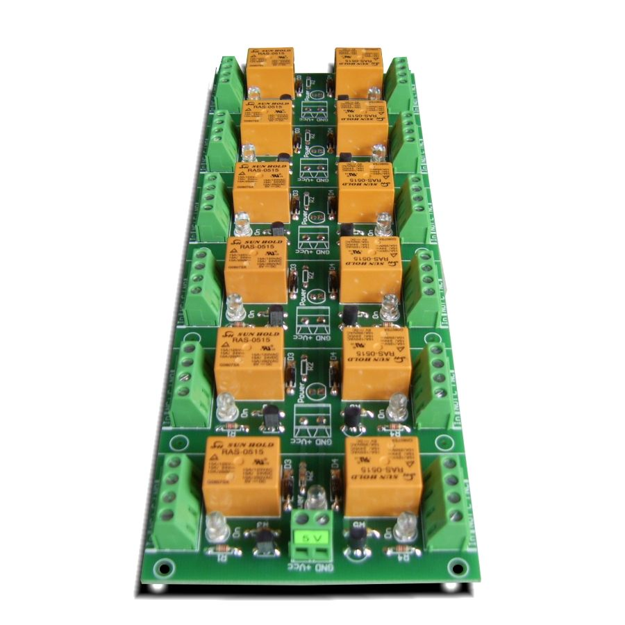 medium resolution of 12 channel relay board for your arduino or raspberry pi 5v