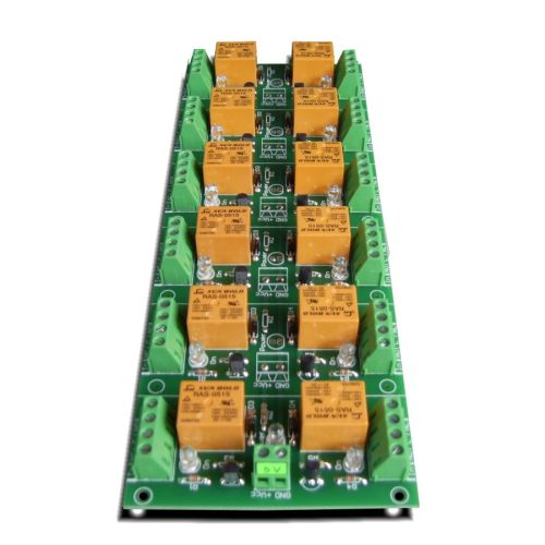 small resolution of 12 channel relay board for your arduino or raspberry pi 5v