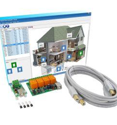 home automation kit [ 1000 x 1000 Pixel ]