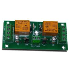 2 channel relay board for your arduino or raspberry pi 12v [ 1000 x 1000 Pixel ]