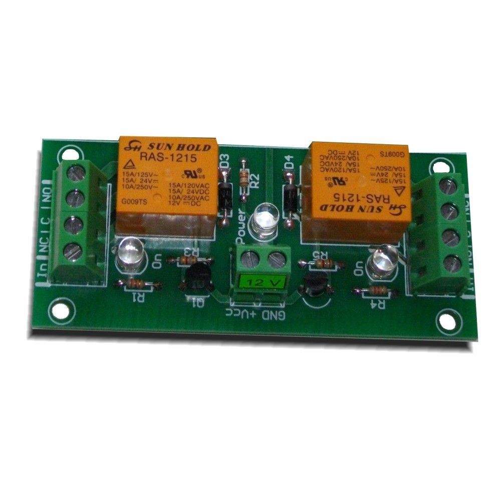 medium resolution of 2 channel relay board for your arduino or raspberry pi 12v