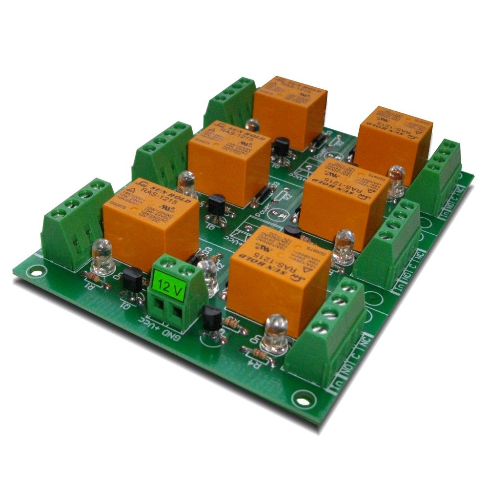 Channel Large Current Relay Board Electronicslab