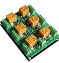 6 channel relay board for your arduino or raspberry pi 24v [ 900 x 900 Pixel ]