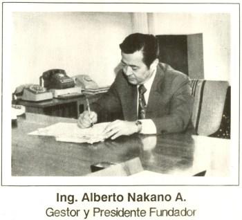 Ing. Alberto Minoru Nakano, gestor y fundador de Denky.