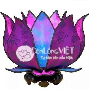 600x600 JewelL1 300x300 Đèn hoa sen để bàn   Màu tím huế