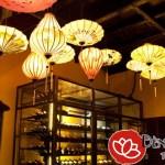 Đèn lồng Hội An trang trí nhà hàng truyền thống